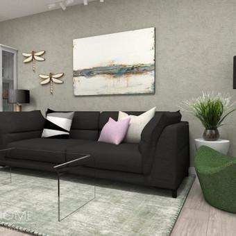 Interjero dizainas, vizualizacijos / Lina Juškė / Darbų pavyzdys ID 1055221