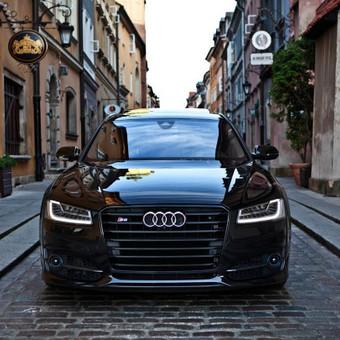 Prabangiu Audi A8 Long Nuoma Vestuvėms / a8nuoma / Darbų pavyzdys ID 1055883