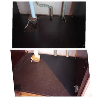 Virtuvinės spintelės remonto darbai. Nesijaudinkite, jeigu įsirengiant virtuvę kažkas įvyko ne pagal planą - daug ką galima suremontuoti