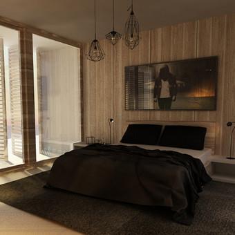 "Miegamojo kambario koncepcija ""Medis"""