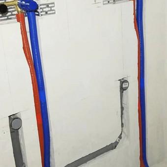 Santechnikas, vandentiekis, šildymas, vėdinimas / Marius / Darbų pavyzdys ID 1063445