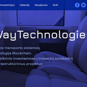 12 puslapių informacinis portalas. Terminas - 30 d.