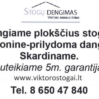 Stogų dengimas prilydoma danga / Viktoras / Darbų pavyzdys ID 1065137