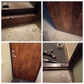 Durų remontas Jūsų namuose, biure, sodyboje. Kartais nutinka, kad nesklandžiai veikia durys, nes trinasi detalės.