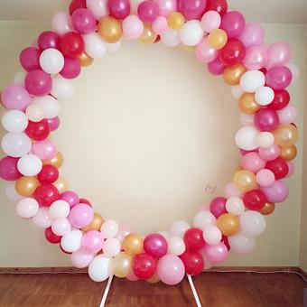 Vestuvių ir kitų gyvenimo švenčių dekoras/stilizavimas / Vilma Unikienė / Darbų pavyzdys ID 1080421