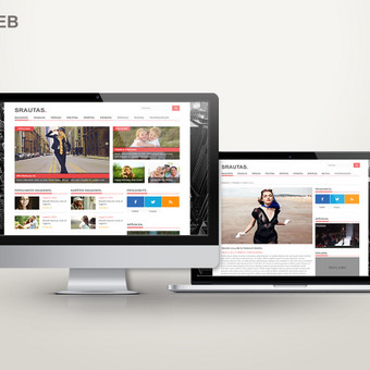 Interneto Svetainių ir Elektroninių Parduotuvių Kūrimas / Ramūnas Racius | Ramon Racius / Darbų pavyzdys ID 115661