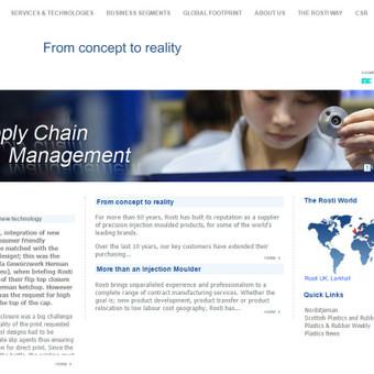www.rosti.com - vienas didžiausių europoję plastikinių komponentų gamintojų.