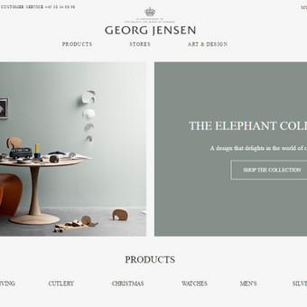 www.georgjensen.com - Danų dizaino namai.