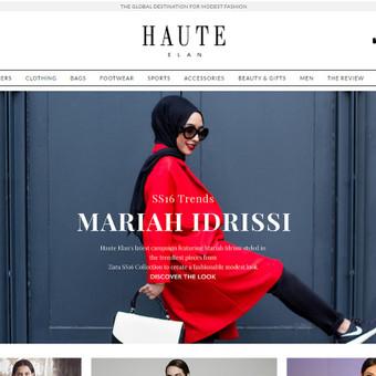 https://haute-elan.com - Dizaino ir mados elektroninė parduotuvė