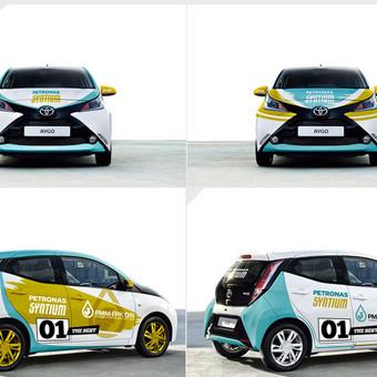 """Reklama ant automobilio Užsakovas: UAB """"Promo Cars"""" (Lietuva)"""