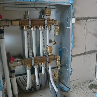 Namo įrengimas antro aukšto šildymas - radiatoriai 3
