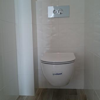 Buto vonios įrengimas po 3