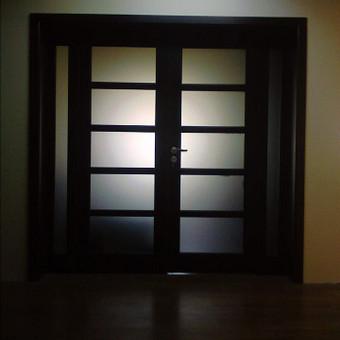Medinių durų, laiptų ir kubilų gamyba / Saulius / Darbų pavyzdys ID 119157