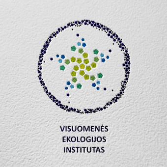 """Logotipas """"Visuominės ekoligijos institutas"""""""