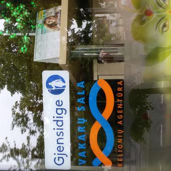 """Kelionių agentūra """"Vakarų sala"""" atstovauja daugelį turizmo organizatorių ir draudimo kompaniją """"Gjensidige"""""""
