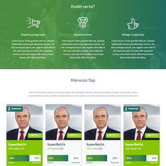 Svetainės kodavimas PSD to HTML5 Responsive. Demo: http://goo.gl/B2R4IT