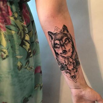 Tatuiruotės, tatuiruočių salonas / Vestina Jocaitytė / Darbų pavyzdys ID 126505