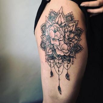 Tatuiruotės, tatuiruočių salonas / Vestina Jocaitytė / Darbų pavyzdys ID 126517