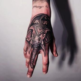 Tatuiruotės, tatuiruočių salonas / Vestina Jocaitytė / Darbų pavyzdys ID 126521