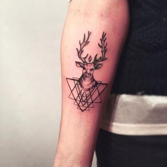 Tatuiruotės, tatuiruočių salonas / Vestina Jocaitytė / Darbų pavyzdys ID 126529