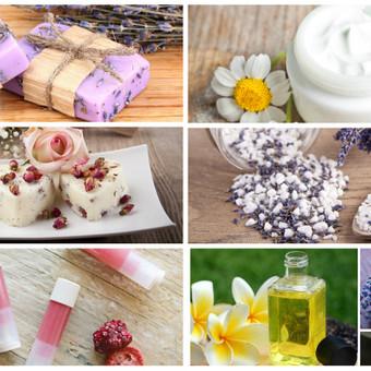 Natūralios kosmetikos gamybos mokymai. Išmokite pasigaminti įvairių natūralių priemonių (muilą, šampuną, priemones voniai, vonios burbulus, aromaterapines vonios druskas, kremą, priemones  ...