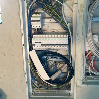 Elektrikas Panevėžyje / Modestas Kuvykas / Darbų pavyzdys ID 129285