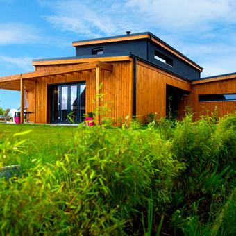 Architektas, projektavimas / SVM BALTIC Karkasiniai-skydiniai namai / Darbų pavyzdys ID 130063