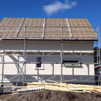 Architektas, projektavimas / SVM BALTIC Karkasiniai-skydiniai namai / Darbų pavyzdys ID 130077