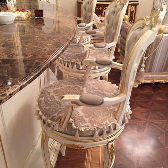 Baro kėdžių minkšti paklotai