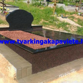 Dalinis kapo dengimas granito plytelėmis
