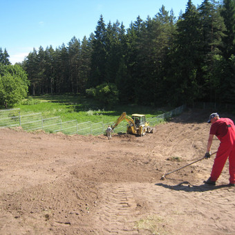 Archeologiniai žvalgymai Šventos kaime (Švenčionnių raj.)
