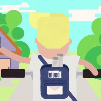 Biuro | 2D animacija