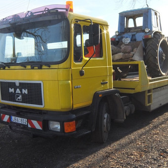 Krovinių gabenimas tech. pagalba iki 17t / Ignas Skučas / Darbų pavyzdys ID 141579