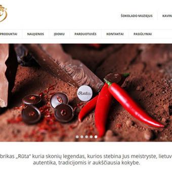 UAB Rūta internetinis tinklalapis. Lietuvoje (ir ne tik) gerai žinomas ir mėgstamas saldainių fabrikas. Saldainių fabrike gaminama daugiau nei 300 pavadinimų saldumynų. Tai šokoladiniai salda ...