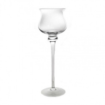 Vyno stiliaus vazų-žvakidžių nuoma, aukštis 60 cm - 3€/vnt