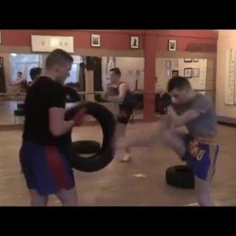Tailandietiško bokso - MuayThai treniruotės Vilniuje. / MuayThai klubas SINOBIS / Darbų pavyzdys ID 144579