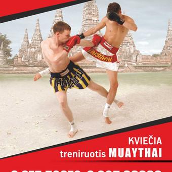 Tailandietiško bokso - MuayThai treniruotės Vilniuje. / MuayThai klubas SINOBIS / Darbų pavyzdys ID 144583