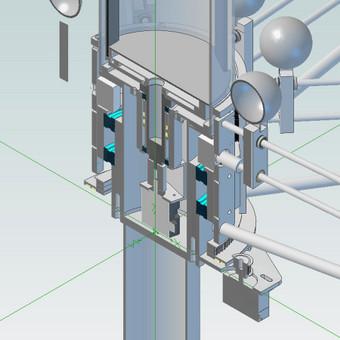 Meninės instaliacijos Cumspin 3D modelis