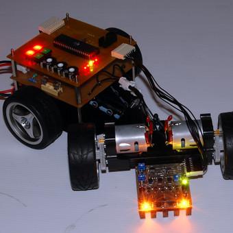 Linijos sekimo robotas