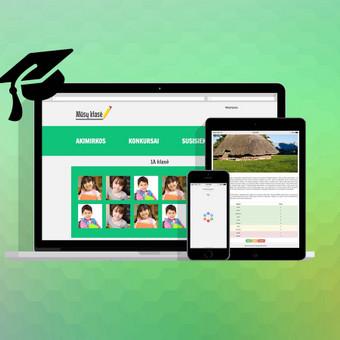 Mokytojų turinio valdymo sistema. http://tvs.deveye.net/public/
