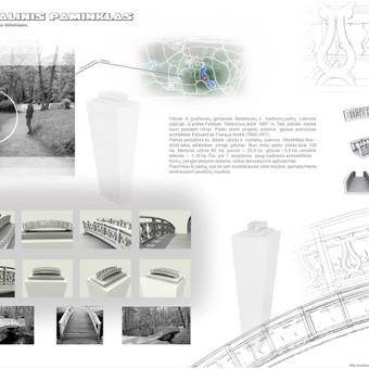 maketas. memorialinio paminklo projektui