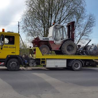 Krovinių gabenimas tech. pagalba iki 17t / Ignas Skučas / Darbų pavyzdys ID 148719