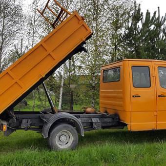 Krovinių gabenimas tech. pagalba iki 17t / Ignas Skučas / Darbų pavyzdys ID 148721