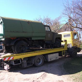 Krovinių gabenimas tech. pagalba iki 17t / Ignas Skučas / Darbų pavyzdys ID 148733