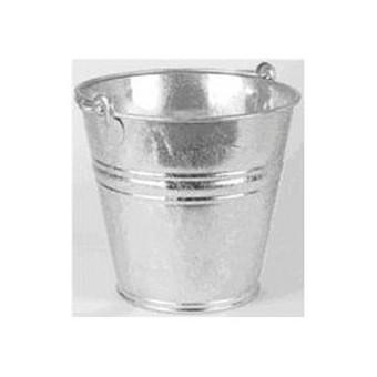 Metalinis vintažinis mini kibirėlis stalo serviravimui, aukštis 5,5 cm, plotis6,5 cm. Nuomos kaina 0,2 €