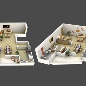 Architektas, projektavimas / Edvinas / Darbų pavyzdys ID 152249