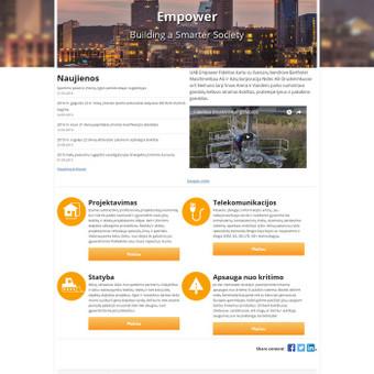 Empower Fidelitas tai suomių kapitalo įmonė. Jiems atlikome Vidinio SEO optimizavimo darbus. Jau po kelių savaičių klientai galėjo džiaugtis pirmomis pozicijomis. raktažodžiai: bokštų sta ...