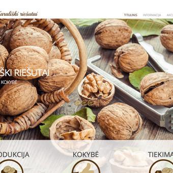 Internetinių svetainių kūrimas Vilniuje / Bona Solutions / Darbų pavyzdys ID 153439