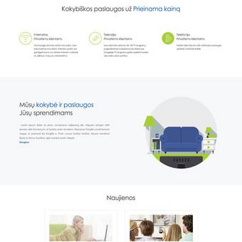 Internetinių svetainių kūrimas Vilniuje / Bona Solutions / Darbų pavyzdys ID 153473