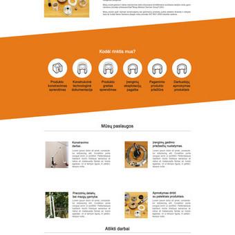 Internetinių svetainių kūrimas Vilniuje / Bona Solutions / Darbų pavyzdys ID 153475